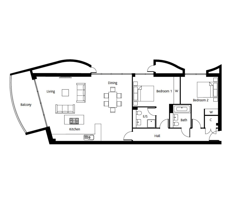 LymingtonShore-Floorplan-Avon-Plot357