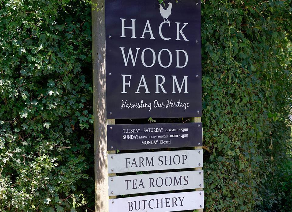 Hackwood Grange-location-Hack Wood farm
