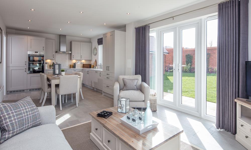 Rayne Gardens - Shaftesbury - 42323 - kitchen - living