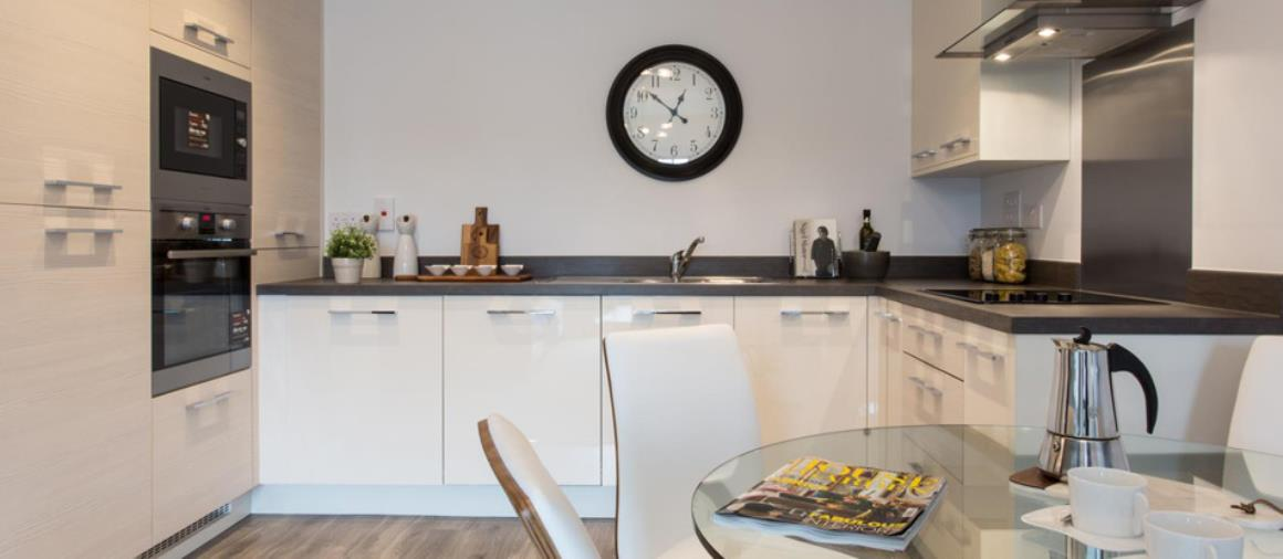 A kitchen at The Orchards, Droitwich