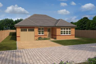 Fairford Brick CGI