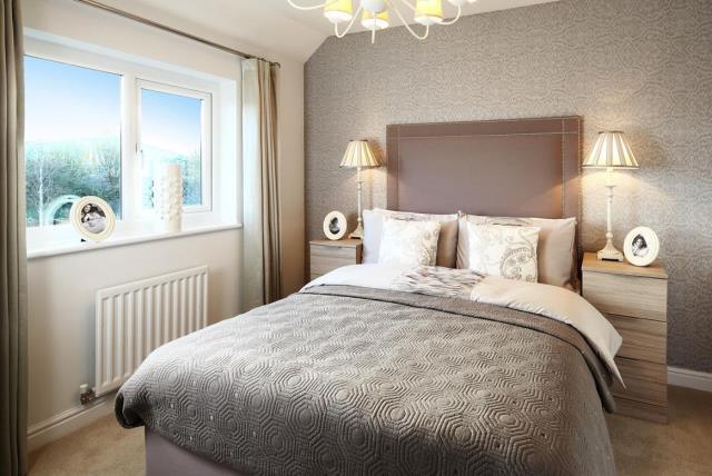 The Ledbury bedroom