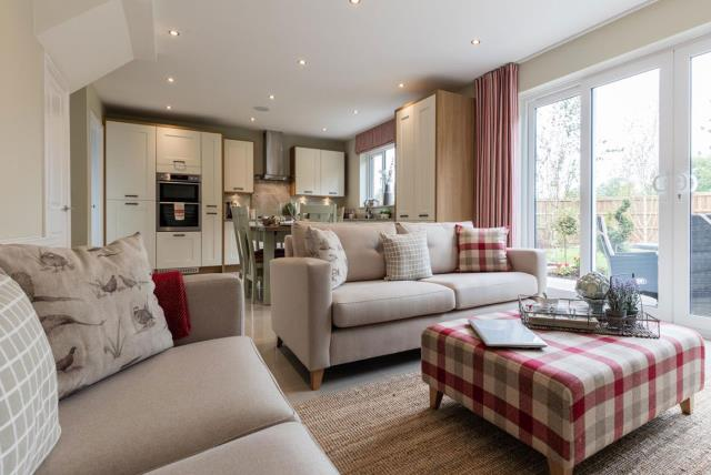 The Cambridge - Living Area