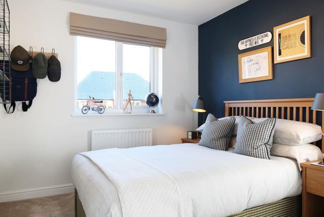 Grantham-semi - bedroom - 46283