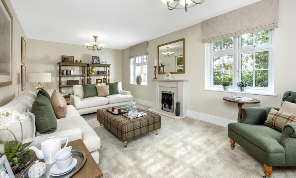 The Shaftesbury - Living Area
