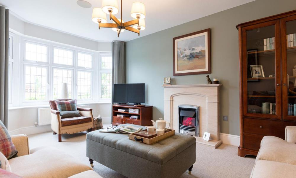 The Worcester - Living Area