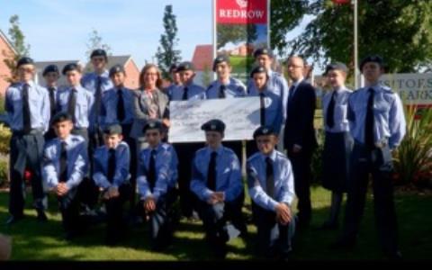 Air Training Corps visit Saxon Gardens